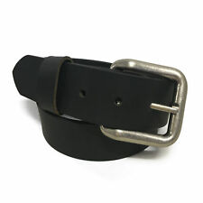 Zelikovitz Mens Genuine Solid Buffalo Leather Belt Handmade