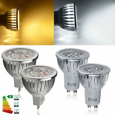 8/12 x GU10/MR16 6W LED Bulbs Day/Warm White Light Spotlight Downlight = 60W