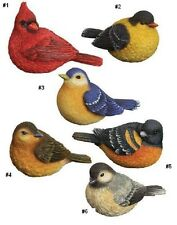 Songbird Figurines from Carson Home Accents-You Choose-Cardinal-Bluebird-More