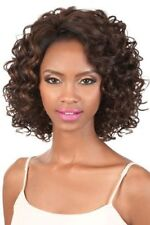 L. DANA BY MOTOWN TRESS SYNTHETIC LACE WIG CURLY MEDIUM PAGE STYLE