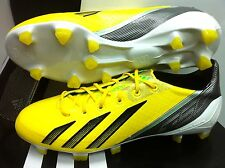 ADIDAS F50 ADIZERO TRX FG SYNTHETIC MICOACH YELLOW FOOTBALL CLEATS SOCCER BOOTS