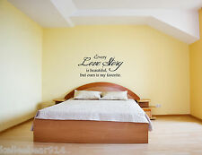 EVERY LOVE STORY IS BEAUTIFUL Vinyl Wall Saying Decal Romantic Love Quote