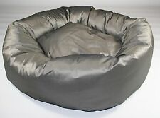 """Dog Bed, Donut Bed,Silver, Heavy Duty  ,38"""" Diameter, Extra Large"""
