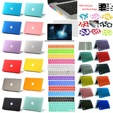 4in1 rubberized Case Cover Bundle For MacBook pro 13 15+keyboard cover+LCD guard