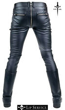 LIP SERVICE ZIPPER FAUX LEATHER VINYL PVC FETISH STEAMPUNK GOTHIC VAMPIRE PANTS