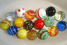 A RARE HAND MADE COLLECTABLE MEDIUM MARBLE 25mm - multi postal discount