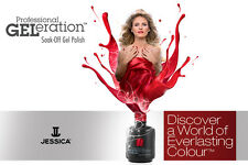 Jessica Geleration - Soak Off Gel Polish - 15ml - Colors (S-Z) + Essentials