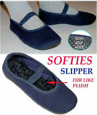 Softies Knit WASHABLE SLIPPERS ...NEW ...Free Shipping USA