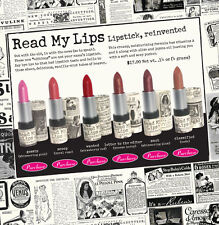 READ MY LIPS Lipsticks from The Balm 6 Colors!