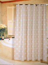 PVC/PEVA Shower Curtains with 12 Rings 180x180cm