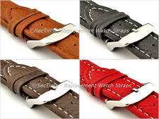 Mens Leather Watch Strap Band Freiburg RM 18mm 20mm 22mm 24mm 26mm 28mm - MM