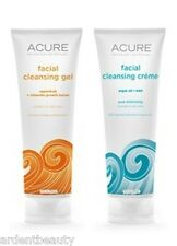 ACURE Facial Cleanser Natural Organic, Select Type of Cleanser