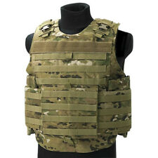 FLYYE SPARTAN ASSAULT VEST TACTICAL PLATE CARRIER MOLLE SYSTEM AIRSOFT MULTICAM
