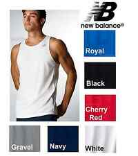 New Balance Mens Moisture Wicking Running Singlet Tank Top Sizes S-3XL NEW
