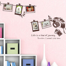 M12 GALLERY_Photo Frames & Camera Decor Sticker DIY Wall Decals+Tracking No.