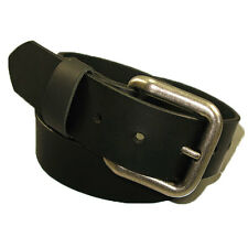 "Mens Handmade Genuine Solid Buffalo Leather Belt Extra Long Length 48"" to 60"""