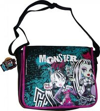 OFFICIAL CHILDRENS MONSTER HIGH FREAK CHIC MESSENGER RUCKSACK BAG