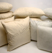 """CUSHION INNER PADS INSERTS FILLERS SCATTERS 16"""" 18"""" 20"""" HOLLOW FIBRE INNERS"""