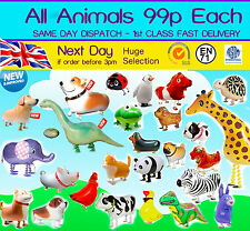 WALKING ANIMAL BALLOON HELIUM AIRWALKER BIRTHDAY DOG KIDS PARTIES TOYS FARM FUN