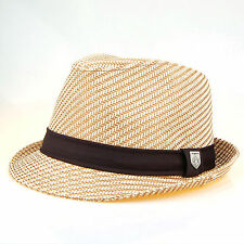 Straw Fedora Hat Cap Trilby Men Women Accessory Hat Cap J2R JRJ018 Koea Made