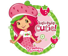 Strawberry Shortcake Edible Cupcake Toppers - Set of 12 Toppers