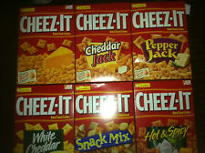 1 Box of Sunshine Cheez-its You choose flavor, 6 flavors to choose from