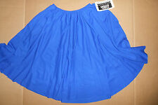 NWT PRAISE CHARACTER FOLK DANCE FULL CIRCLE SKIRT ROYAL BLUE CHILD/LADIES PLUS