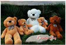 NEW super lovely teddy bear STuffed animal  plush toy 31.5'' gift three colours