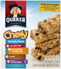Quaker Oats Chewy Granola Bars 5 flavors to choose from