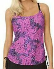Ocean Dream Signature Bohemian Chic Shirred Tankini TOP Only~A231062