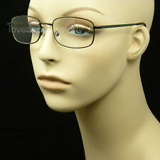 BIFOCAL READING GLASSES CLEAR LENS NEW MEN WOMEN POWER SPRING HINGE  MM34