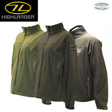 HIGHLANDER ODIN SOFTSHELL WINDPROOF WATERPROOF JACKETS OUTDOORS ALL SIZES