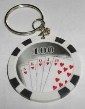 DREAMCATCHER  CHIMES  -  WHISTLE -  POKER  CHIP  KEY  CHAINS