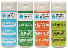 Martha Stewart Crafts Glow in the Dark Finish Paint by Plaid Water-based