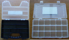 ORGANISER 18 OR 9 SLOT STORAGE DIY TOOL BOX TOOLBOX SCREWS NAILS