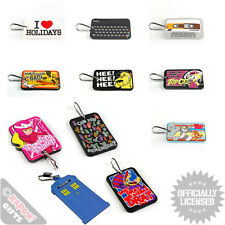 Luggage Tag - PVC Tags Suitcase Label Baggage Personalise Cool Funky Designs