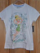 DISNEY TINKER BELL STUDIO COLLECTION GRAPHIC TEE T-SHIRT LADIES OOP RARE - NWT