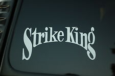 Strike King Fishing Lures Vinyl Sticker Decal (V117) Ocean Boat Fish Tuna Truck