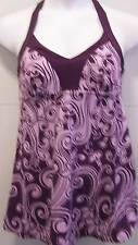 7673   PLUS SIZE 1 Pc Purple Swimsuit Assorted Sizes Available