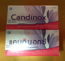 THRUSH AND YEAST INFECTIONS CANDINOX TABLETS TREATMENT FOR ANTI FUNGAL DISEASES