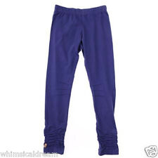 Catimini girls purple leggings pants Sz 10 & 12 years NWT