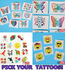 ONE PACK Temporary Tattoo,Animal,Dinosaur,Heart,Kid,Party Bag Supply Prize Props