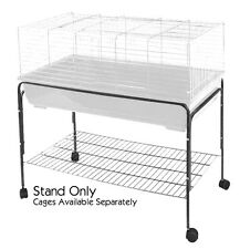 RABBIT GUINEA PIG INDOOR CAGE STAND FITS 80cm 100cm 120cm 80 100 120 CAGES NEW
