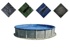Premium Above Ground or In Ground Swimming Pool Winter Cover - ALL Sizes!