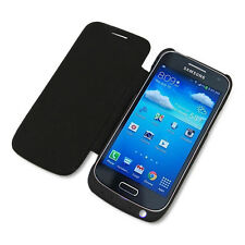 3000mAh Backup Battery Power Case Flip Cover for Samsung Galaxy S4 Mini New