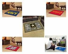 Choose Your US Military Branch 4' x 6' Decorative Ultra Plush Area Rug Floor Mat