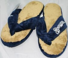Milwaukee Brewers MLB Flip Flop Thong Slippers