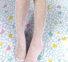 Sexy Cute Heart-shaped Women Girl Stretchy Pantyhose Tights Silk Stockings