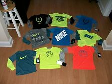 Nike Young Boys DriFit Short/Long Sleeve Shirt, Many Sizes&Colors, MSRP $18-$28