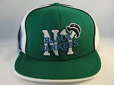 New York Black Yankees Negro League Fitted Hat Cap 360 Rotating Bill Green White
